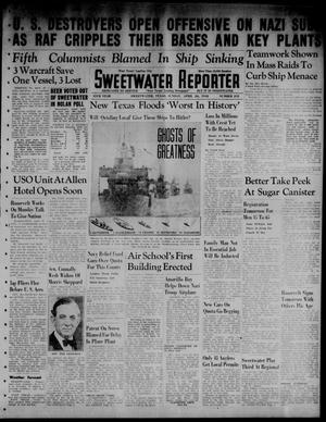 Primary view of object titled 'Sweetwater Reporter (Sweetwater, Tex.), Vol. 45, No. 245, Ed. 1 Sunday, April 26, 1942'.