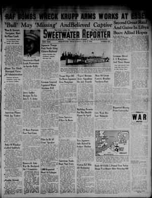 Primary view of object titled 'Sweetwater Reporter (Sweetwater, Tex.), Vol. 45, No. 262, Ed. 1 Tuesday, June 2, 1942'.
