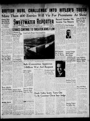 Primary view of object titled 'Sweetwater Reporter (Sweetwater, Tex.), Vol. 44, No. 262, Ed. 1 Sunday, March 16, 1941'.