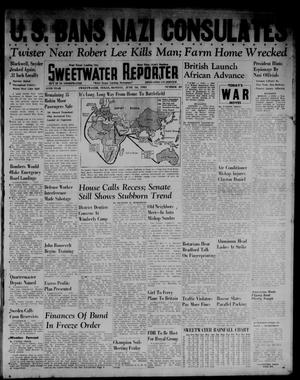 Primary view of object titled 'Sweetwater Reporter (Sweetwater, Tex.), Vol. 45, No. 20, Ed. 1 Monday, June 16, 1941'.