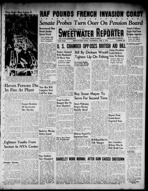 Primary view of object titled 'Sweetwater Reporter (Sweetwater, Tex.), Vol. 44, No. 230, Ed. 1 Wednesday, February 5, 1941'.