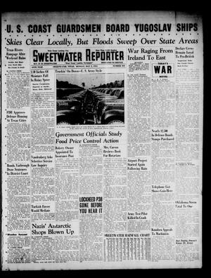 Primary view of object titled 'Sweetwater Reporter (Sweetwater, Tex.), Vol. 44, No. 304, Ed. 1 Monday, May 5, 1941'.