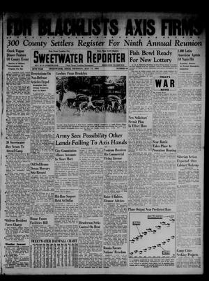 Primary view of object titled 'Sweetwater Reporter (Sweetwater, Tex.), Vol. 45, No. 46, Ed. 1 Thursday, July 17, 1941'.
