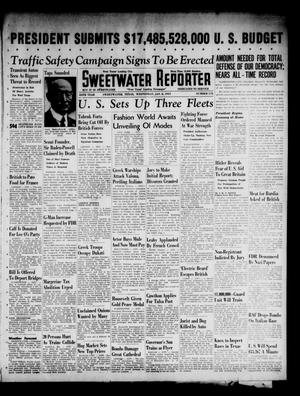 Primary view of object titled 'Sweetwater Reporter (Sweetwater, Tex.), Vol. 44, No. 173, Ed. 1 Wednesday, January 8, 1941'.