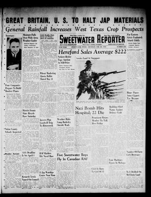 Primary view of object titled 'Sweetwater Reporter (Sweetwater, Tex.), Vol. 44, No. 242, Ed. 1 Thursday, February 20, 1941'.