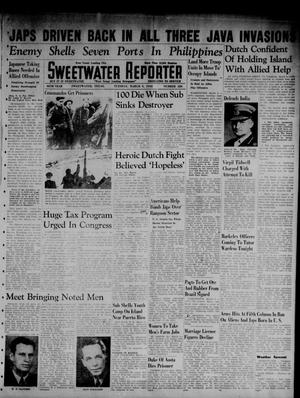 Primary view of object titled 'Sweetwater Reporter (Sweetwater, Tex.), Vol. 45, No. 220, Ed. 1 Tuesday, March 3, 1942'.