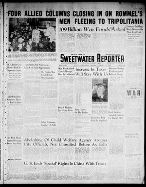 Primary view of object titled 'Sweetwater Reporter (Sweetwater, Tex.), Vol. 46, No. 20, Ed. 1 Monday, January 11, 1943'.