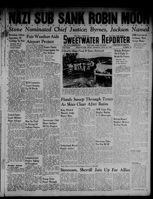Primary view of object titled 'Sweetwater Reporter (Sweetwater, Tex.), Vol. 45, No. 19, Ed. 1 Thursday, June 12, 1941'.
