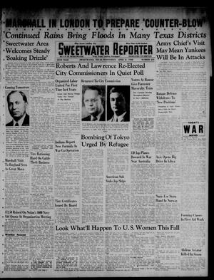 Primary view of object titled 'Sweetwater Reporter (Sweetwater, Tex.), Vol. 45, No. 235, Ed. 1 Wednesday, April 8, 1942'.