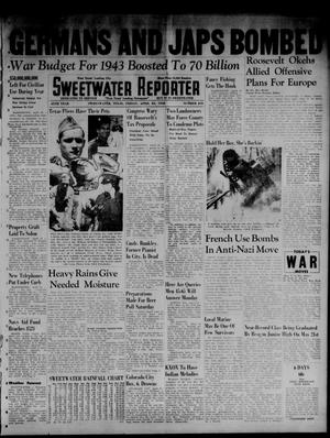 Primary view of object titled 'Sweetwater Reporter (Sweetwater, Tex.), Vol. 45, No. 245, Ed. 1 Friday, April 24, 1942'.