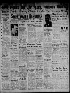 Primary view of object titled 'Sweetwater Reporter (Sweetwater, Tex.), Vol. 45, No. 267, Ed. 1 Monday, June 8, 1942'.