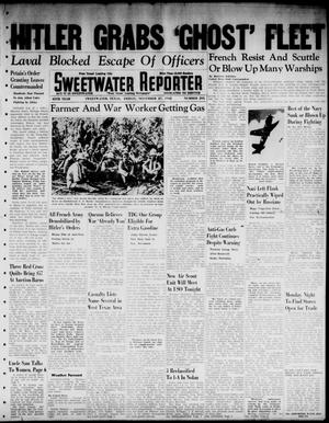 Primary view of object titled 'Sweetwater Reporter (Sweetwater, Tex.), Vol. 45, No. 295, Ed. 1 Friday, November 27, 1942'.