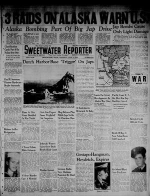 Primary view of object titled 'Sweetwater Reporter (Sweetwater, Tex.), Vol. 45, No. 264, Ed. 1 Thursday, June 4, 1942'.