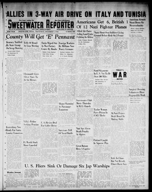 Primary view of object titled 'Sweetwater Reporter (Sweetwater, Tex.), Vol. 45, No. 302, Ed. 1 Wednesday, December 9, 1942'.