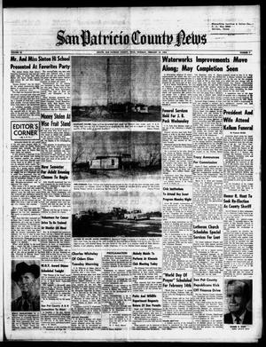 Primary view of object titled 'San Patricio County News (Sinton, Tex.), Vol. 56, No. 7, Ed. 1 Thursday, February 13, 1964'.