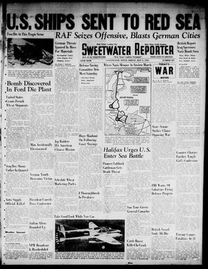 Primary view of object titled 'Sweetwater Reporter (Sweetwater, Tex.), Vol. 44, No. 307, Ed. 1 Friday, May 9, 1941'.