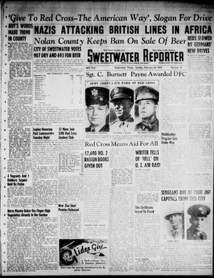 Primary view of object titled 'Sweetwater Reporter (Sweetwater, Tex.), Vol. 46, No. 55, Ed. 1 Sunday, February 28, 1943'.