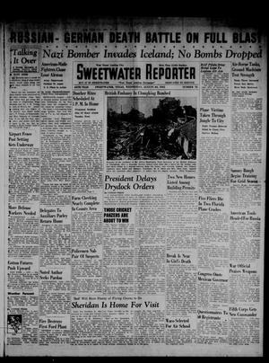 Primary view of object titled 'Sweetwater Reporter (Sweetwater, Tex.), Vol. 45, No. 72, Ed. 1 Wednesday, August 20, 1941'.