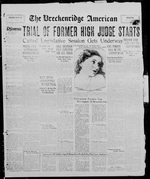 Primary view of The Breckenridge American (Breckenridge, Tex.), Vol. 10, No. 43, Ed. 1, Monday, January 20, 1930