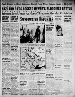 Primary view of object titled 'Sweetwater Reporter (Sweetwater, Tex.), Vol. 47, No. 16, Ed. 1 Wednesday, January 19, 1944'.