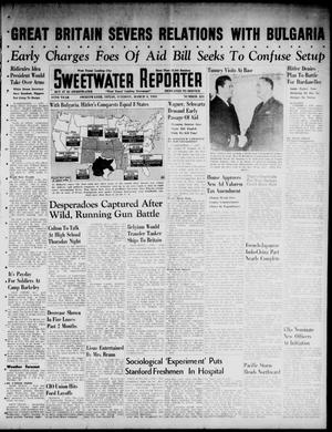Primary view of object titled 'Sweetwater Reporter (Sweetwater, Tex.), Vol. 44, No. 251, Ed. 1 Tuesday, March 4, 1941'.