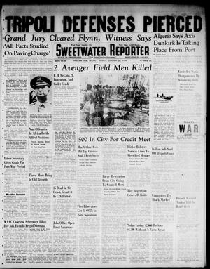 Primary view of object titled 'Sweetwater Reporter (Sweetwater, Tex.), Vol. 46, No. 23, Ed. 1 Friday, January 22, 1943'.