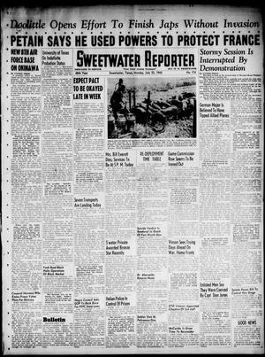 Primary view of object titled 'Sweetwater Reporter (Sweetwater, Tex.), Vol. 48, No. 174, Ed. 1 Monday, July 23, 1945'.