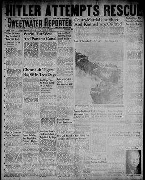 Primary view of object titled 'Sweetwater Reporter (Sweetwater, Tex.), Vol. 45, No. 220, Ed. 1 Sunday, March 1, 1942'.