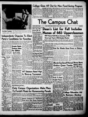 Primary view of object titled 'The Campus Chat (Denton, Tex.), Vol. 31, No. 5, Ed. 1 Friday, October 24, 1947'.