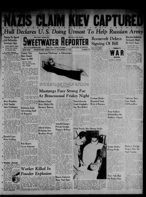 Primary view of object titled 'Sweetwater Reporter (Sweetwater, Tex.), Vol. 45, No. 95, Ed. 1 Friday, September 19, 1941'.