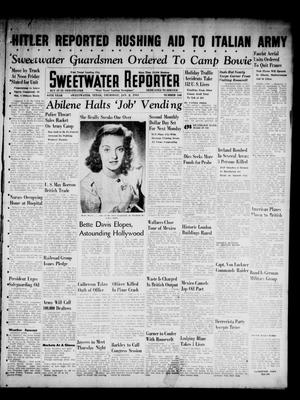 Primary view of object titled 'Sweetwater Reporter (Sweetwater, Tex.), Vol. 44, No. 168, Ed. 1 Thursday, January 2, 1941'.