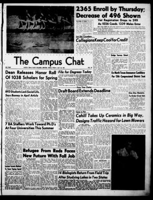 Primary view of object titled 'The Campus Chat (Denton, Tex.), Vol. 34, No. 59, Ed. 1 Friday, July 20, 1951'.