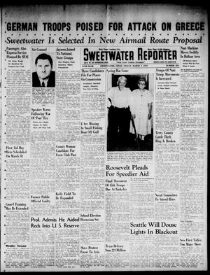 Primary view of object titled 'Sweetwater Reporter (Sweetwater, Tex.), Vol. 44, No. 253, Ed. 1 Friday, March 7, 1941'.