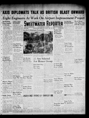 Primary view of object titled 'Sweetwater Reporter (Sweetwater, Tex.), Vol. 44, No. 235, Ed. 1 Wednesday, February 12, 1941'.
