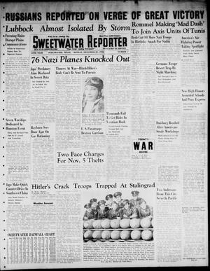 Primary view of object titled 'Sweetwater Reporter (Sweetwater, Tex.), Vol. 45, No. 7, Ed. 1 Monday, December 21, 1942'.
