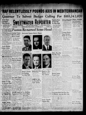 Primary view of object titled 'Sweetwater Reporter (Sweetwater, Tex.), Vol. 44, No. 216, Ed. 1 Sunday, January 19, 1941'.
