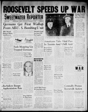 Primary view of object titled 'Sweetwater Reporter (Sweetwater, Tex.), Vol. 46, No. 27, Ed. 1 Wednesday, January 27, 1943'.