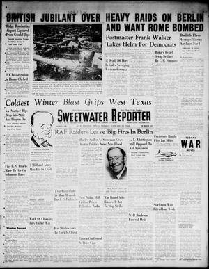 Primary view of object titled 'Sweetwater Reporter (Sweetwater, Tex.), Vol. 46, No. 23, Ed. 1 Monday, January 18, 1943'.