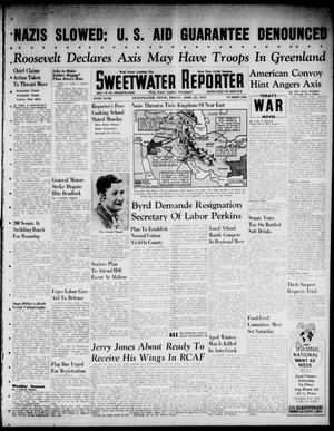 Primary view of object titled 'Sweetwater Reporter (Sweetwater, Tex.), Vol. 44, No. 296, Ed. 1 Friday, April 25, 1941'.