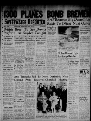 Primary view of object titled 'Sweetwater Reporter (Sweetwater, Tex.), Vol. 45, No. 280, Ed. 1 Friday, June 26, 1942'.
