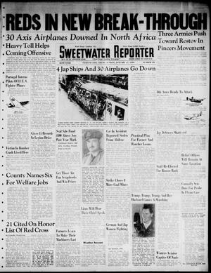 Primary view of object titled 'Sweetwater Reporter (Sweetwater, Tex.), Vol. 46, No. 23, Ed. 1 Sunday, January 17, 1943'.