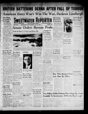 Primary view of object titled 'Sweetwater Reporter (Sweetwater, Tex.), Vol. 44, No. 220, Ed. 1 Thursday, January 23, 1941'.