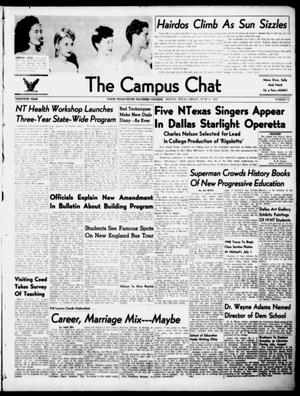 Primary view of object titled 'The Campus Chat (Denton, Tex.), Vol. 30, No. 31, Ed. 1 Friday, June 27, 1947'.