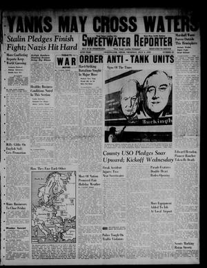 Primary view of object titled 'Sweetwater Reporter (Sweetwater, Tex.), Vol. 45, No. 35, Ed. 1 Thursday, July 3, 1941'.