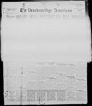 Primary view of object titled 'The Breckenridge American (Breckenridge, Tex.), Vol. 10, No. 78, Ed. 1, Saturday, March 1, 1930'.