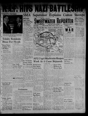 Primary view of object titled 'Sweetwater Reporter (Sweetwater, Tex.), Vol. 45, No. 19, Ed. 1 Friday, June 13, 1941'.