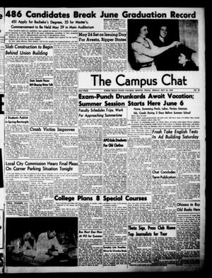 Primary view of object titled 'The Campus Chat (Denton, Tex.), Vol. 32, No. 35, Ed. 1 Friday, May 20, 1949'.