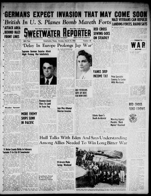 Primary view of object titled 'Sweetwater Reporter (Sweetwater, Tex.), Vol. 46, No. 68, Ed. 1 Monday, March 15, 1943'.