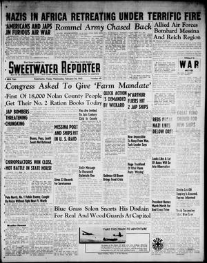 Primary view of object titled 'Sweetwater Reporter (Sweetwater, Tex.), Vol. 46, No. 50, Ed. 1 Wednesday, February 24, 1943'.