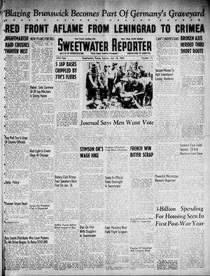 Primary view of object titled 'Sweetwater Reporter (Sweetwater, Tex.), Vol. 47, No. 13, Ed. 1 Sunday, January 16, 1944'.
